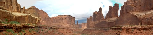 Park Avenue in Arches National Park